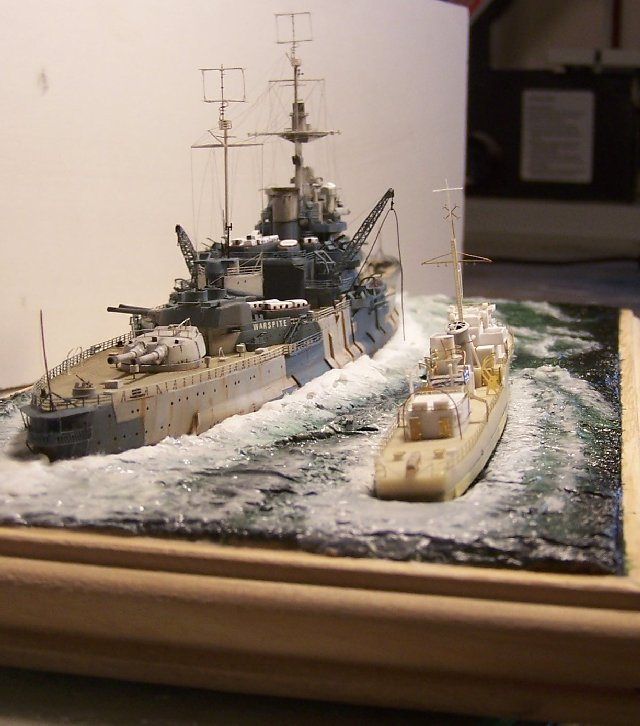 Hms Warspite airfix 1/600 - Page 4 519717hms_Warspite_108