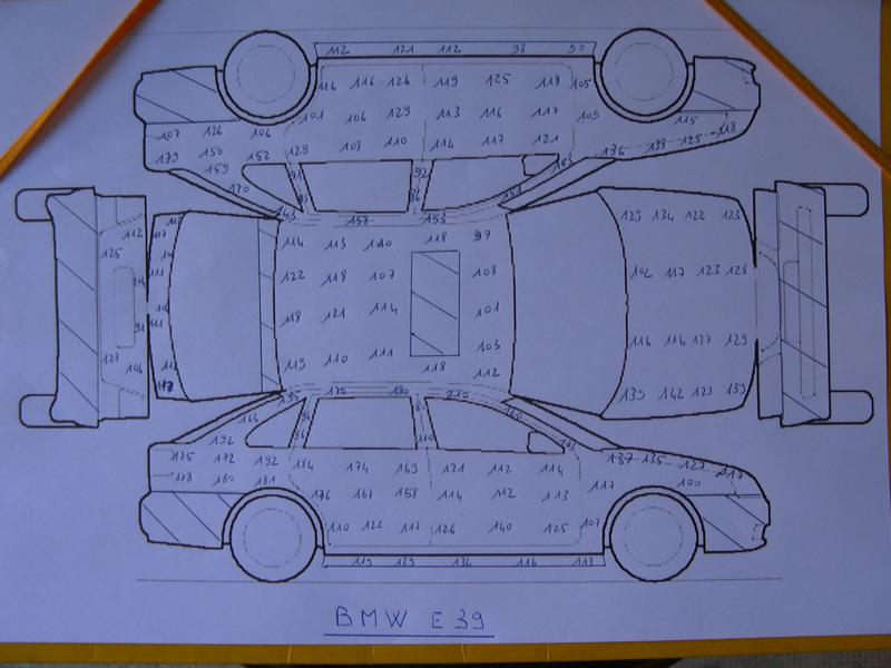 [BMW 530 d E39] Renaissance d'un Cosmos Schwarz Metallic 531342P1000642