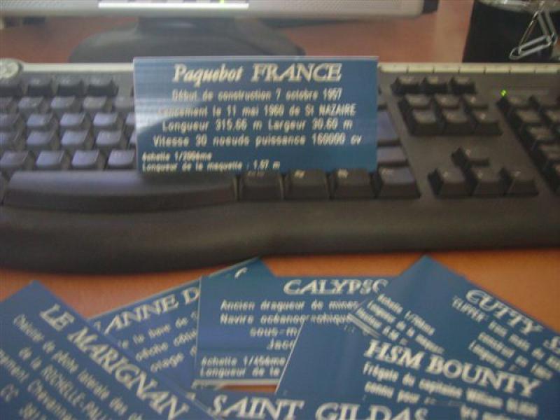 Paquebot France (New Maquettes 1/200°) par Henri - Page 8 532837IMGP1125