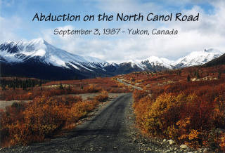 Enlèvement sur Le North Canol Road (Canada), (plusieurs croquis/dessins du témoin). 532931bildo5ln