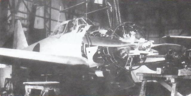 MITSUBISHI A6M ZEKE 58499A6M1_prototype