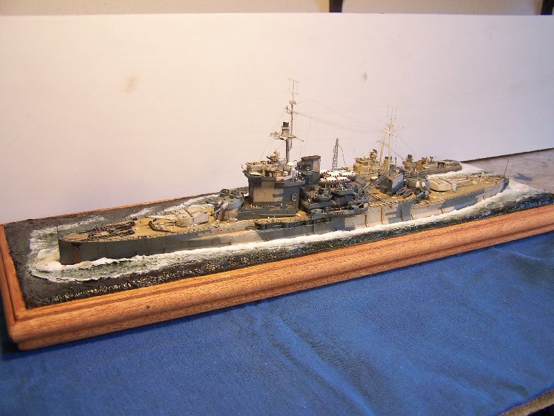Hms Warspite par OrionV au 1/600 - airfix  594427hmswarspite117