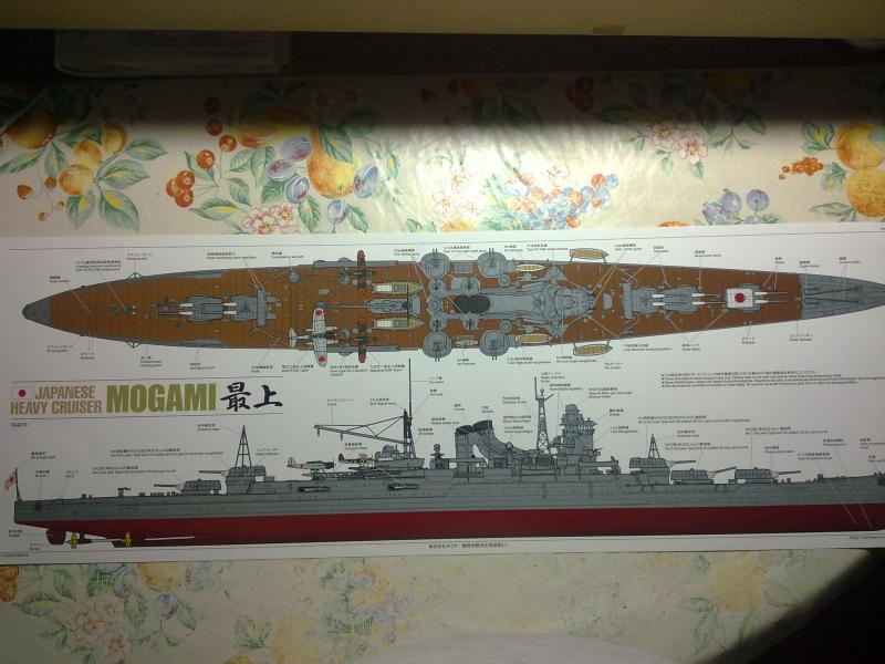 croiseur lourd Mogami au 1/350 par Pascal 94 - Tamiya  60896507092010679