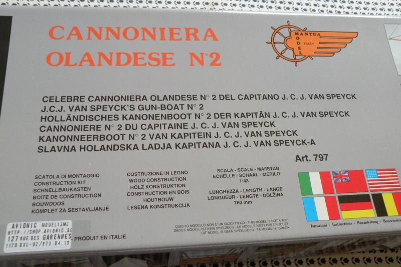 Canonnière Type 2 Belge (ex-Néerlandaise) MANTUA 1/43 par HUSSARD 622490DSCN0586