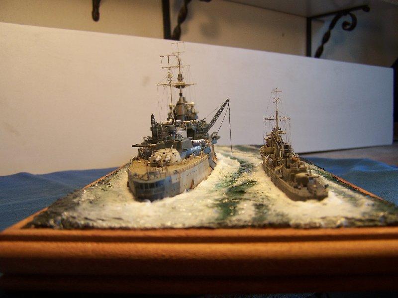 Hms Warspite par OrionV au 1/600 - airfix  643026hmswarspite114