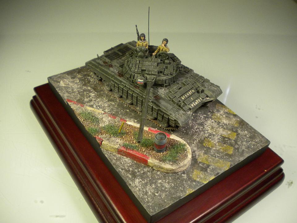 T-72 - Tchétchènie 1995 - 1/72° 654441