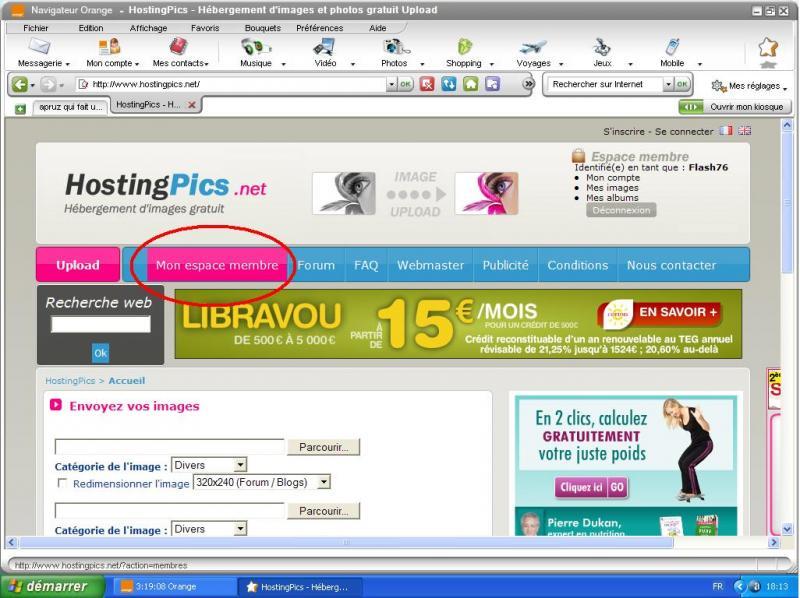 poster les photos - TUTO :  Comment poster des photos sur le forum avec Hostingpics.net 66612tuto1