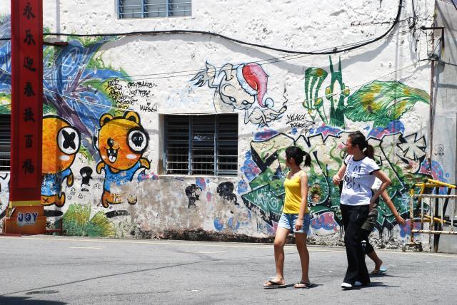Graffitis, affiches, pub, peintures, sculptures, art 683733DSC_0600