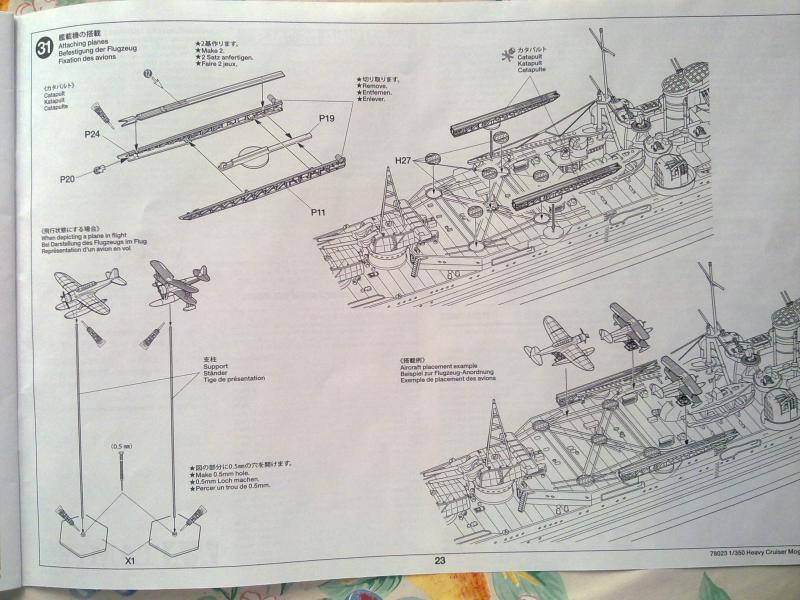 croiseur lourd Mogami au 1/350 par Pascal 94 - Tamiya  70750206092010670