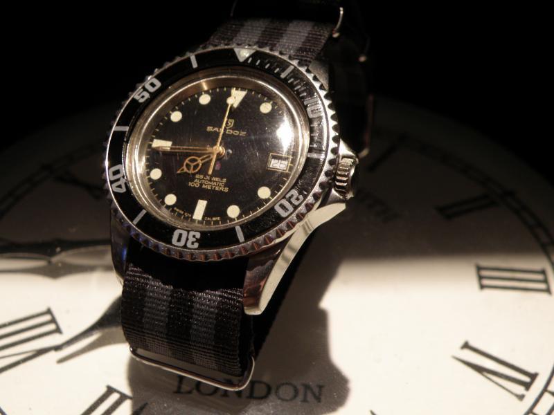 Présentation d une petite Sandoz diver's 100M (petite mamie) 739930P7250203