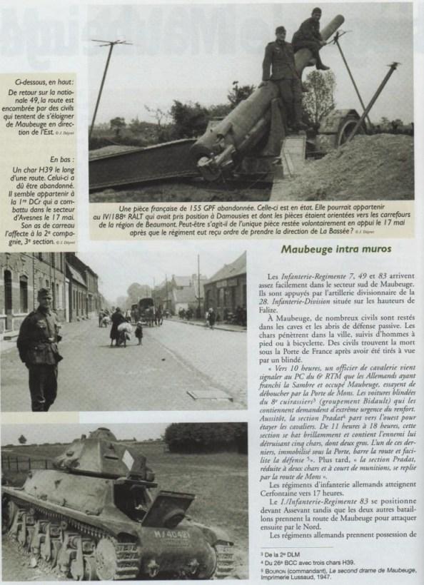 Le second siège de Maubeuge en Mai 1940 740553
