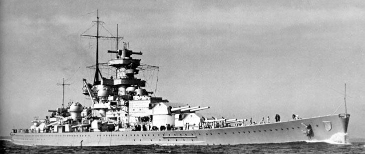BÂTIMENTS DE PROJECTION ET DE COMMANDEMENT CLASSE MISTRAL 744722Scharnhorst1
