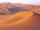Le désert de sable