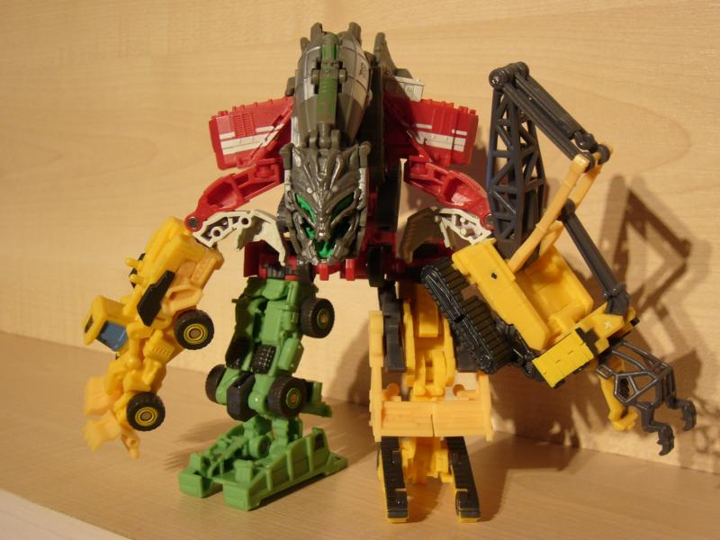 "Collection Nosfe ""Transformers & Hokuto No Ken & Cie"" 751825Devastator_1"