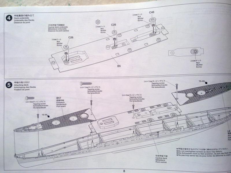 croiseur lourd Mogami au 1/350 par Pascal 94 - Tamiya  76016006092010655