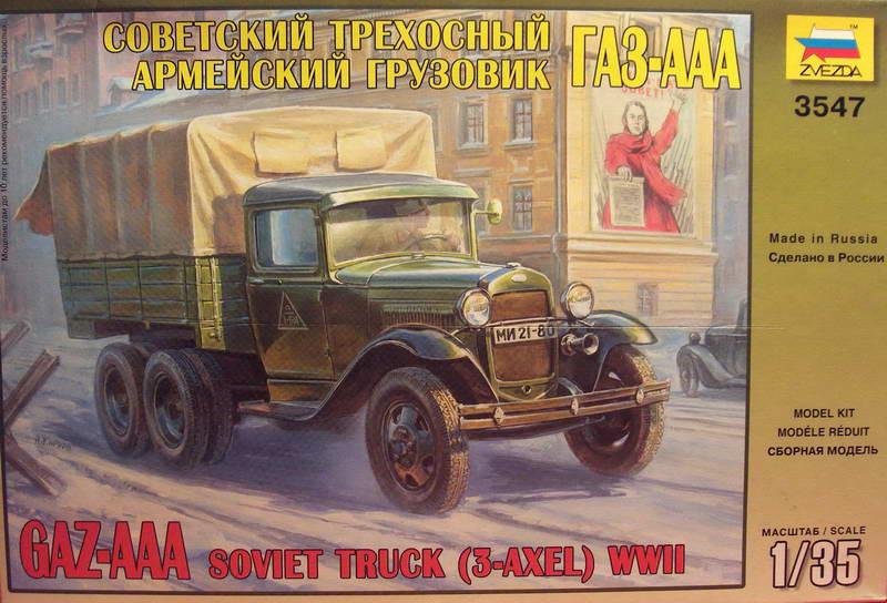 Camion Russe  GAZ-AAA 1934/1943 Zvezda 1/35 terminé!!! 760714GAZ_AAA_Soviet_Truck