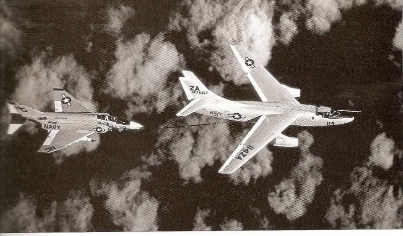 DOUGLAS A-3 SKYWARRIOR 767675A_3B_ravitailleur