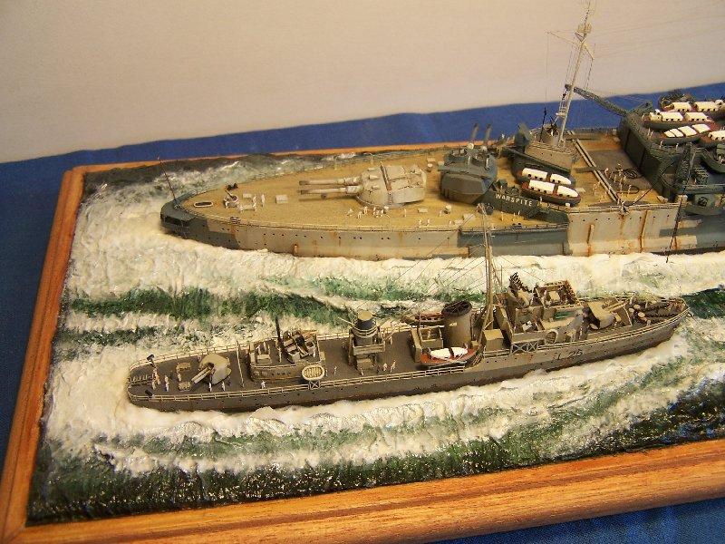 Hms Warspite par OrionV au 1/600 - airfix  77067hmswarspite121