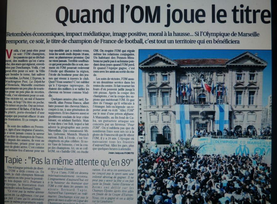 """LA CAVERNE DES TROPHEES DE L""""OM - Page 2 773229P1080477"""