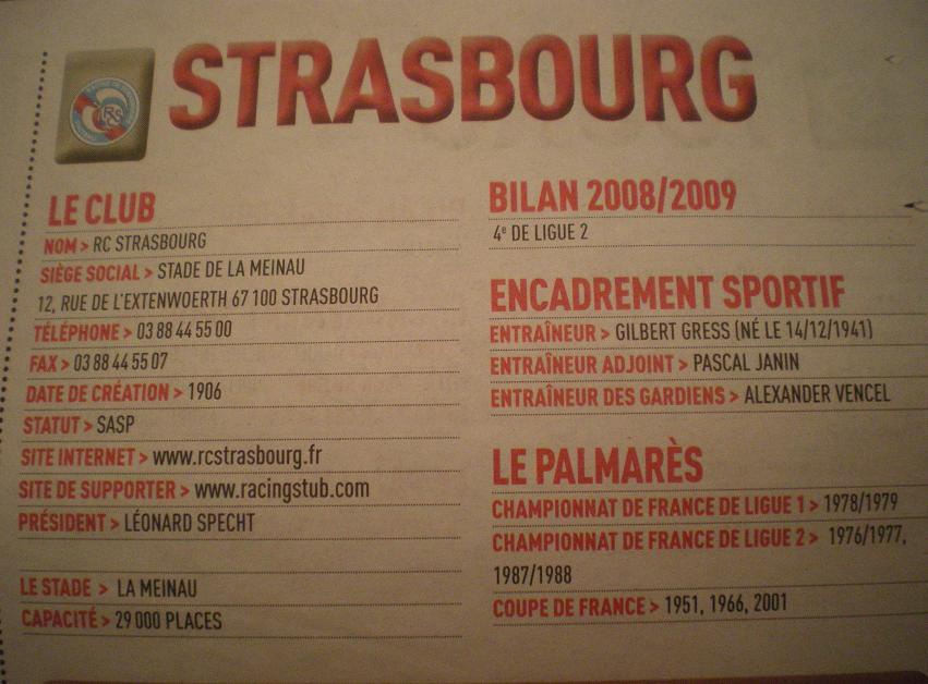 STRASBOURG DE RETOUR  773784IMGP6642