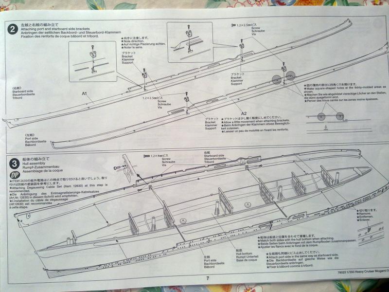 croiseur lourd Mogami au 1/350 par Pascal 94 - Tamiya  81712606092010654