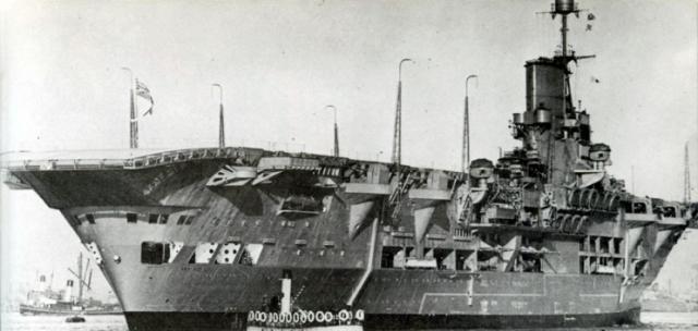 ROYAL NAVY PORTE AVIONS ARK ROYAL 820780Ark_Royal_2_1938