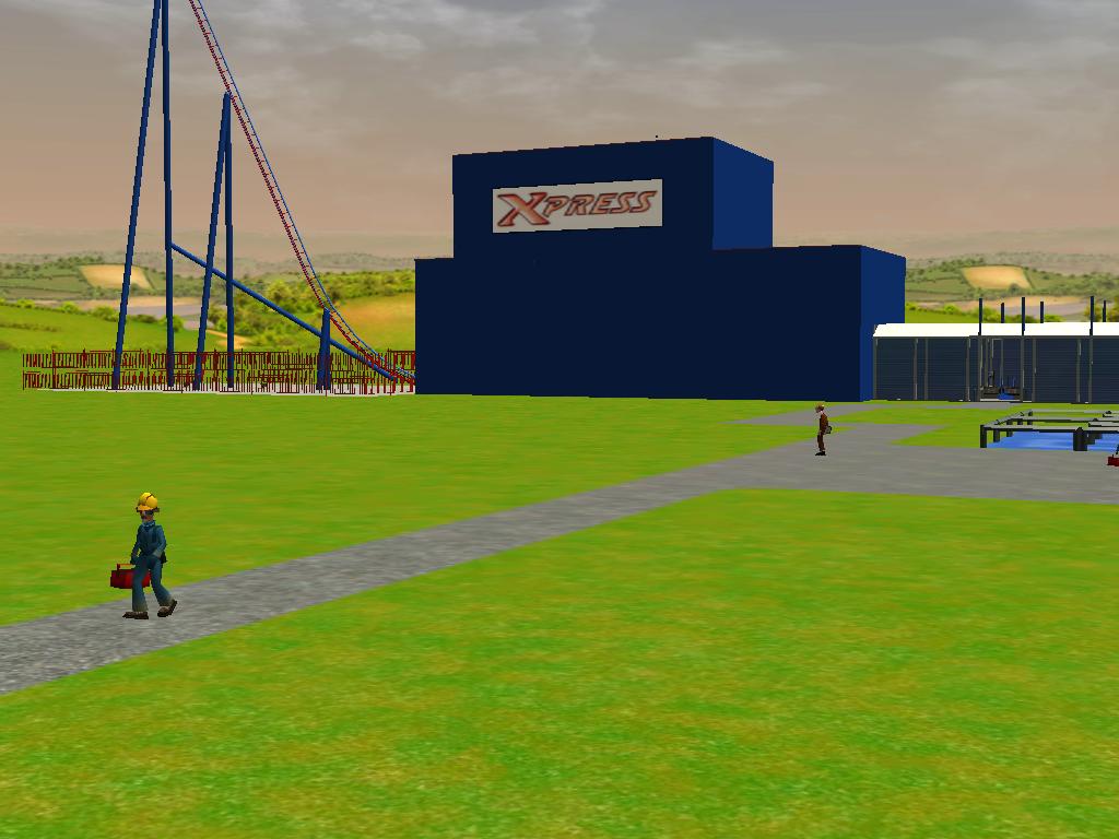 les attractions disney les meilleurs sur roller coaster tycoon 3 - Page 5 829368Shot0536