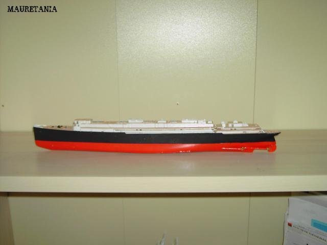 RMS Mauretania - airfix - 1/600   836321PICT1519
