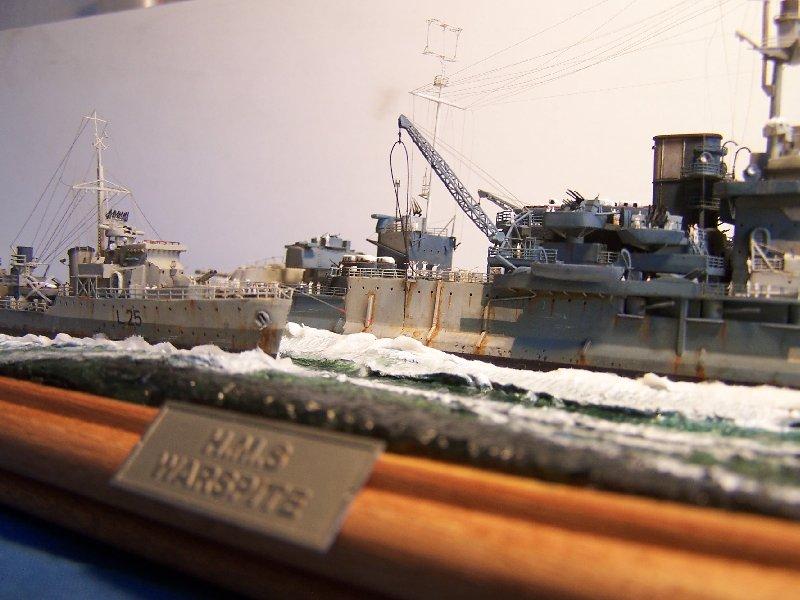 Hms Warspite par OrionV au 1/600 - airfix  839931hmswarspite126