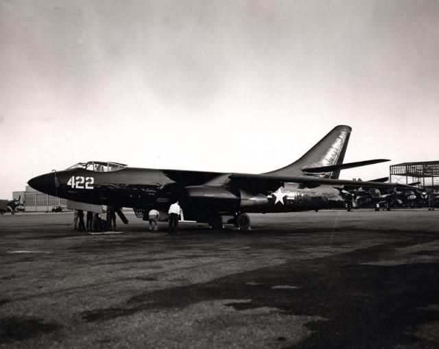 DOUGLAS A-3 SKYWARRIOR 858519A3D_Skywarrior_1950s