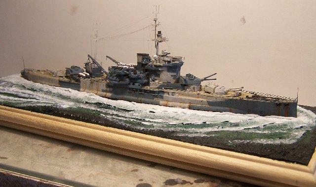 Hms Warspite airfix 1/600 - Page 4 862840hms_Warspite_106