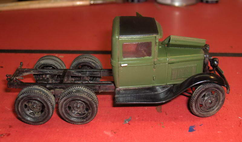 Camion militaire Russe GAZ-AAA  (3-Axel)WWII  Zvezda 1/35 - Page 3 867620HPIM1241
