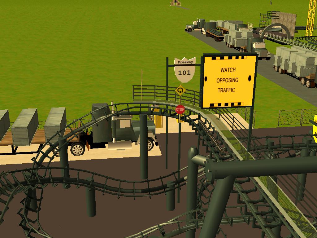 les attractions disney les meilleurs sur roller coaster tycoon 3 - Page 5 874555Shot0542