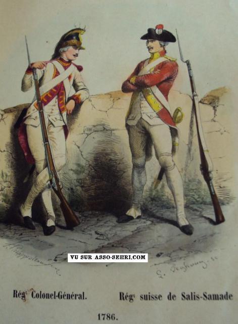 l'infanterie sous l'Ancien Régime 904036infanterie_en_1786