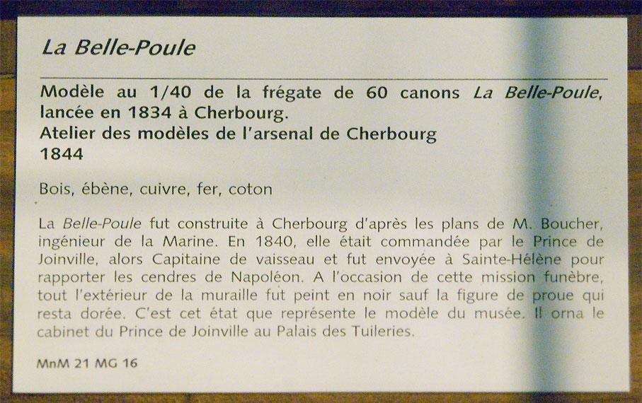 Frégate Belle Poule 1834 (Heller 1/200°) par Christophe 928317090329_72