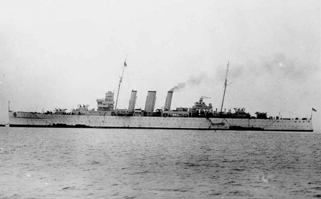 ROYAL NAVY CROISEURS LOURDS CLASSE COUNTY 94714HMS_Cumberland