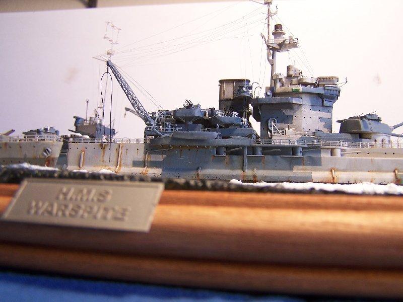 Hms Warspite par OrionV au 1/600 - airfix  960241hmswarspite127