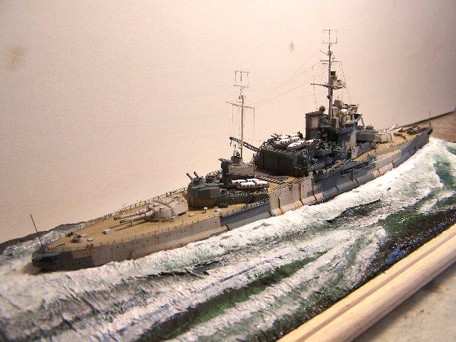 Hms Warspite airfix 1/600 - Page 4 965922hms_Warspite_105