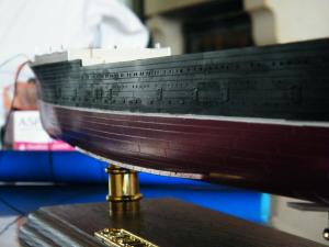 RMS Lusitania (Deluxe Model) - 1:350 - Gunze Sangyo Mini_334803DSCF0856