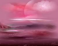 L'étendue rosée