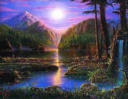 L'étang aux milles couleurs