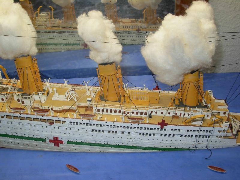 HMHS Britannic ACADEMY 1/400 142136DSCN0315