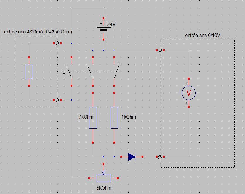 Générateur 0/10V - 4/20mA 194001simulateur