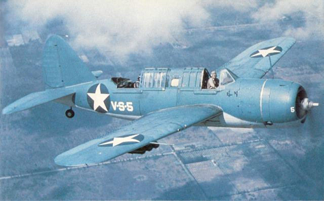 CURTISS SB2C HELLDIVER 260640Brewster_SB2A_4_Buccaneer_in_flight_1942