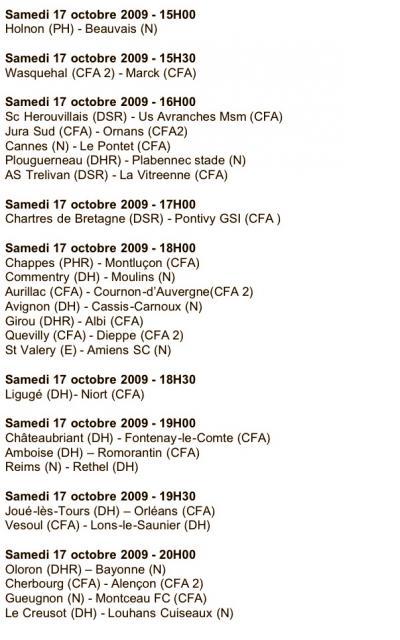 Coupe de France 2009/2010 : 5ème Tour 294078AOowKb
