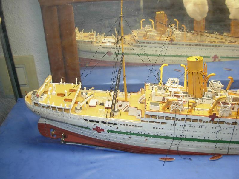 HMHS Britannic ACADEMY 1/400 3349DSCN0314