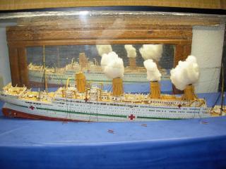 HMHS Britannic ACADEMY 1/400 480792DSCN0313