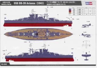 USS Arizona - 1/700e - Hobby Boss 50359Arizona___Notice_6