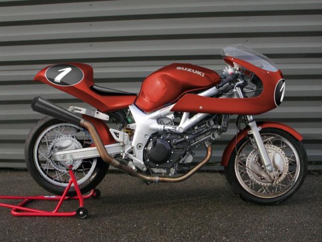 Torréfaction sur Suzuki SV 650 533778600svcaferacerouge