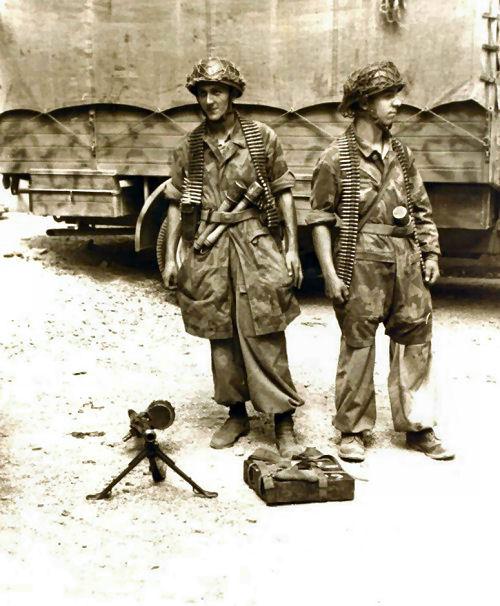 Les fallschirmjager en photos; I 551198cc